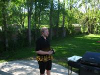 Cody at his Memorial Day party