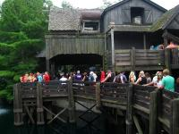 The line for Maverick. It was a long couple of hours but it was worth it