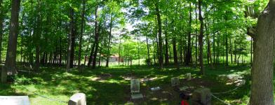 This Civil War-era cemetery is tiny and hides one geocache