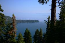 Overlooking Emerald Bay and Lake Tahoe