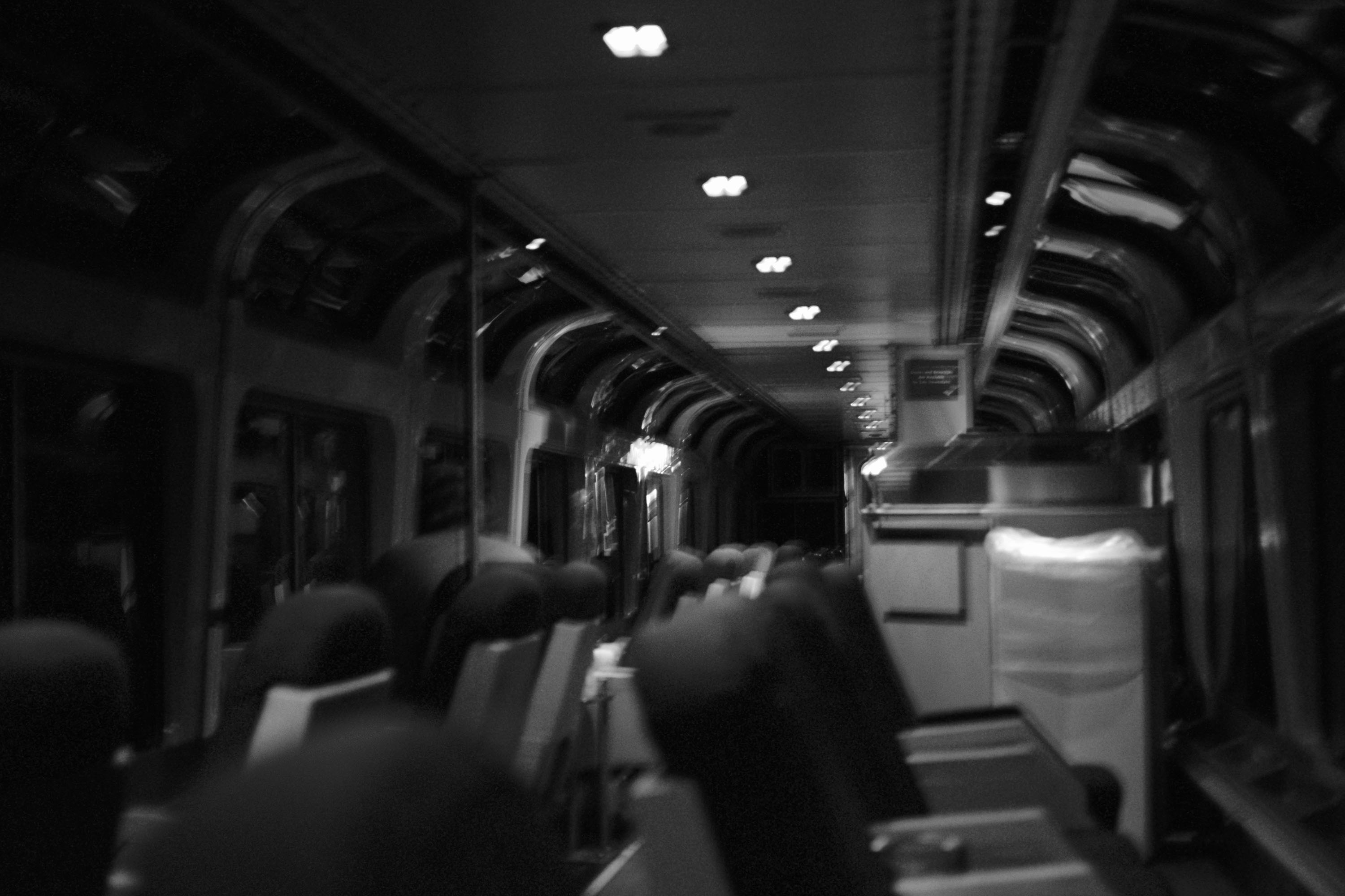 Relaxing nighttime observation car