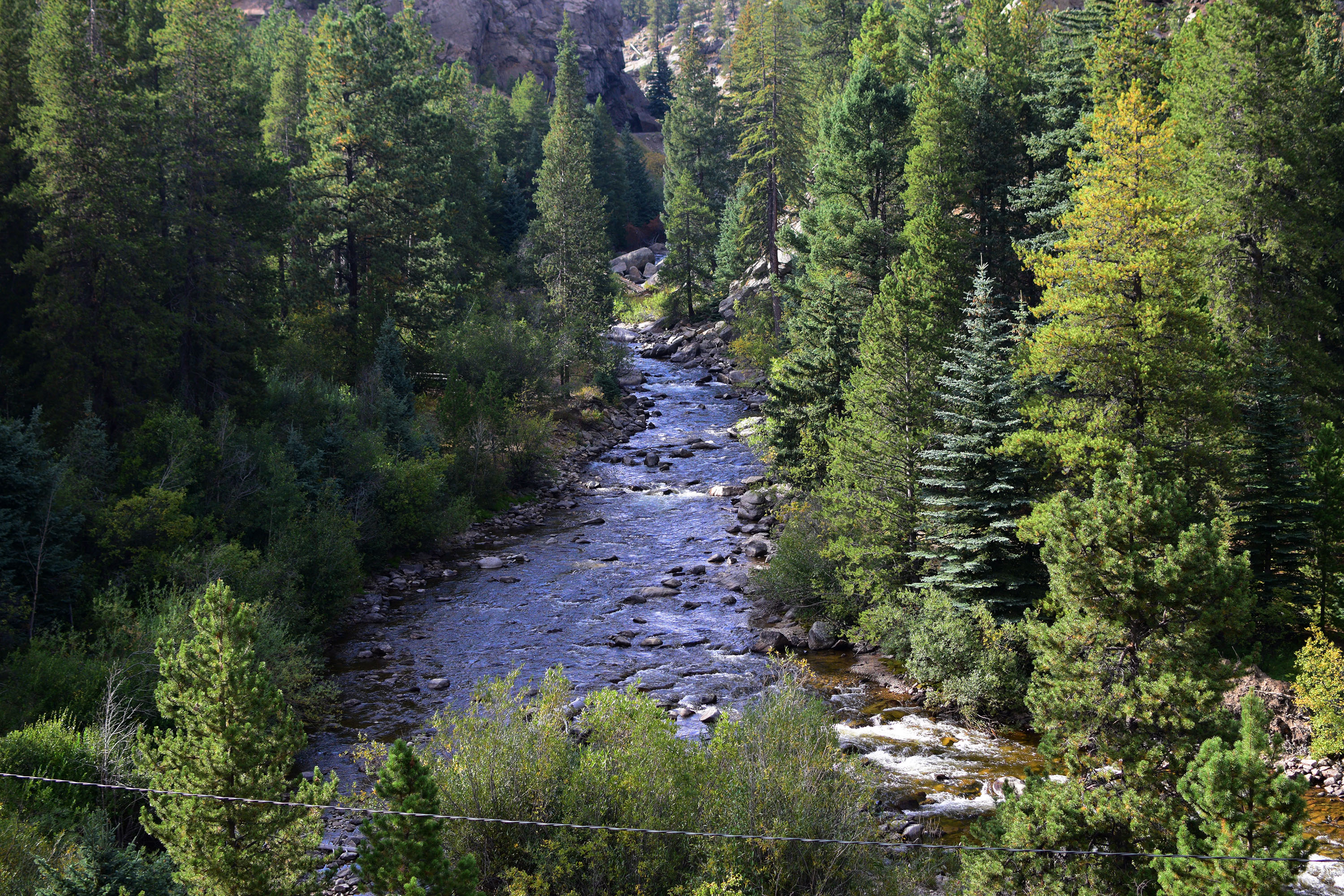 Creek in the Rocky Mountains