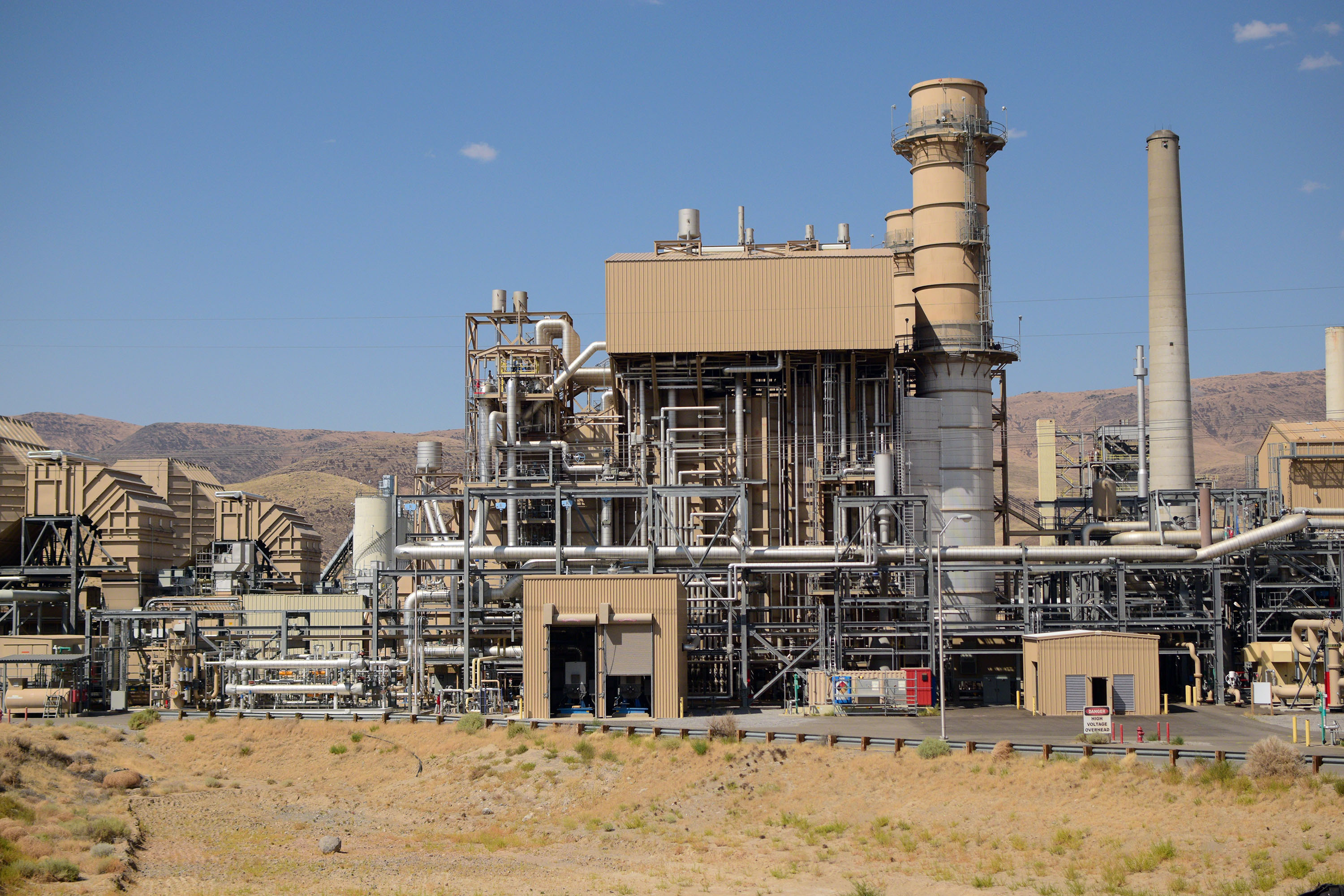The Frank A. Tracy Generating Station just east of Reno, NV