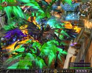 Tons of people on mounts in Stormwind