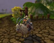 The mount that the Tillers give you at exalted; a goat