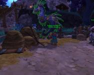 The seahorse showing up as one of my random mounts at my Garrison stables