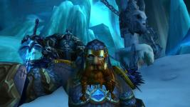 Taking a selfie with the Lich King