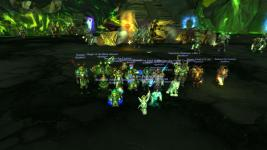 Posing after our first N Archimonde kill